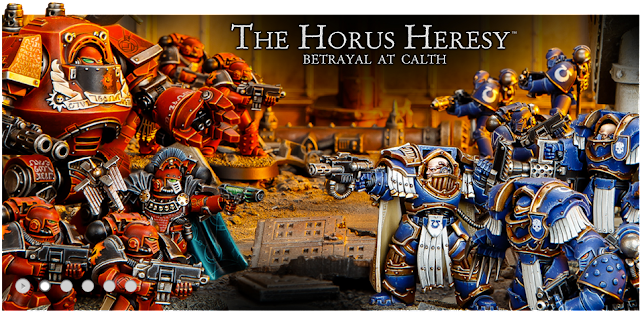 Games Workshop anuncia los prepedidos de la Herejía de Horus: Traición en Calth