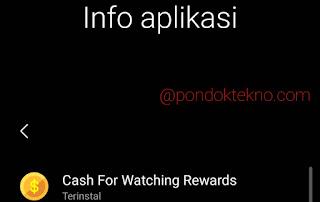 3 Cara Menghasilkan Uang di Aplikasi Cash For Watching Rewards