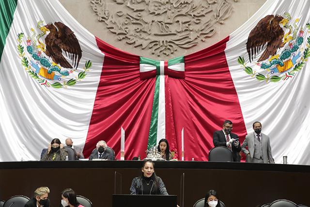 Nueva  Ley Orgánica de la Armada de México abre las puertas a la militarización del país: Olga Luz Espinosa