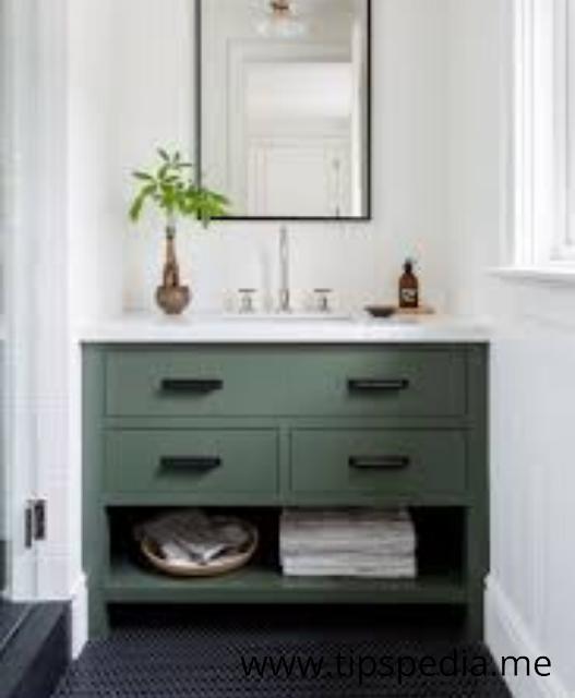 Simple Bathroom Cabinets
