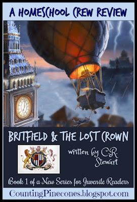 #hsreviews #newbook ##SummerofBritfield #BritfieldandTheLostCrown #bookreview #ExploreEngland #AdventureNovel #mystery #CRStewart