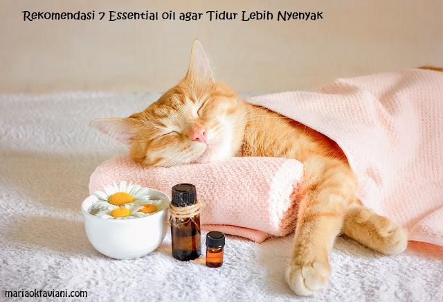 essential oil untuk tidur nyenyak