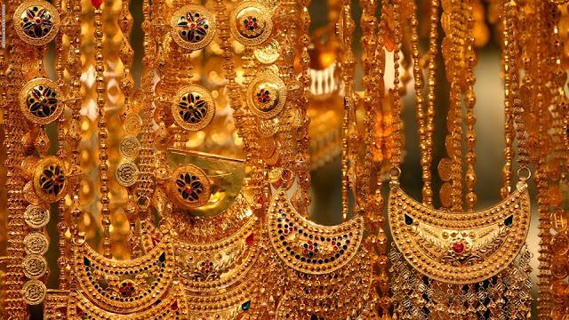 أسعار الذهب فى اليمن اليوم الأربعاء 6/1/2021 وسعر غرام الذهب اليوم فى السوق المحلى والسوق السوداء