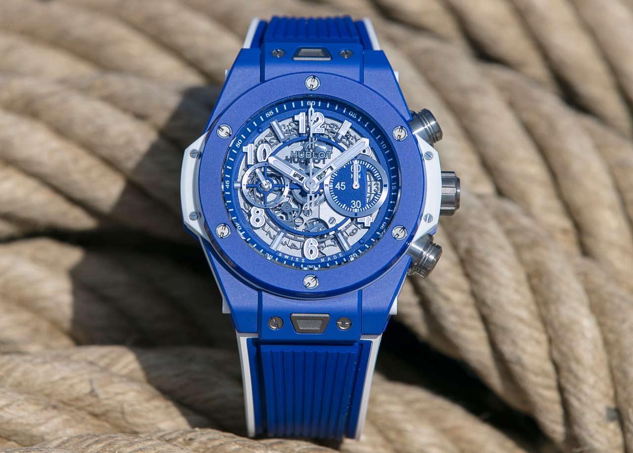 Hublot Big Bang Blue Time And Watches