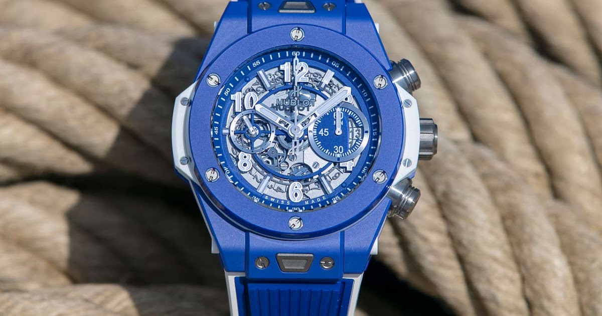 Hublot Big Bang Blue Time And Watches The Watch Blog