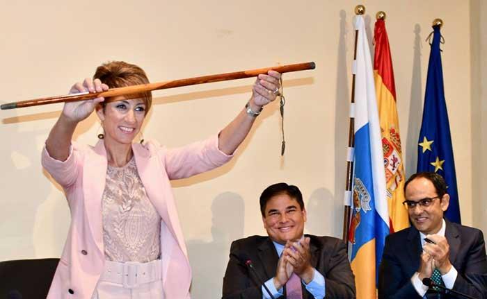 La alcaldesa de Mogán, Gran Canaria, Onalia Bueno, detenida por la por la presunta compra de votos en las elecciones de 2015