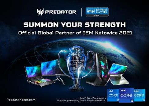 Acer atualiza computadores e monitor Predator oficiais do IEM com tecnologias gaming de última geração