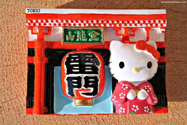 Imán de Hello Kitty en Tokio