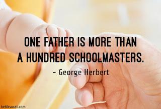 quotes bahasa inggris about father dan artinya