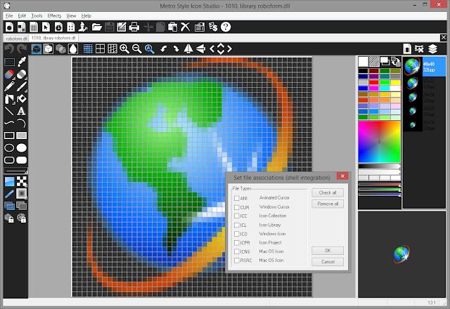 Screenshot Metro Style Icon Studio 2019.1 Full Version