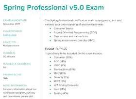 Is It Possible To Take Spring Professional V5 0