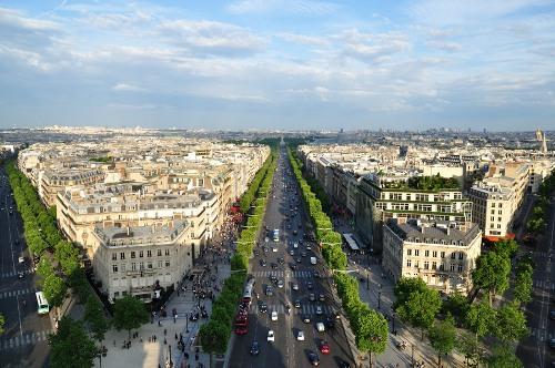 El Arco Del Triunfo En Paris Lugares Para Viajar En El Mundo