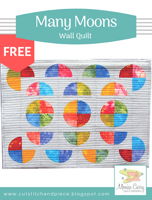 FREE - Many Moons Wall Quilt Pattern