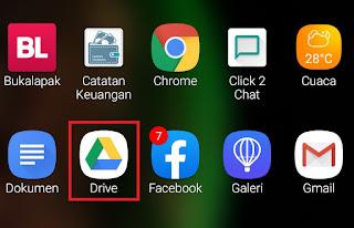 Aplikasi Google Drive