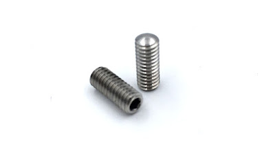 Custom Oval Point Set Screws - Metric