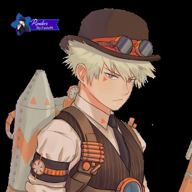 Katsuki- Render