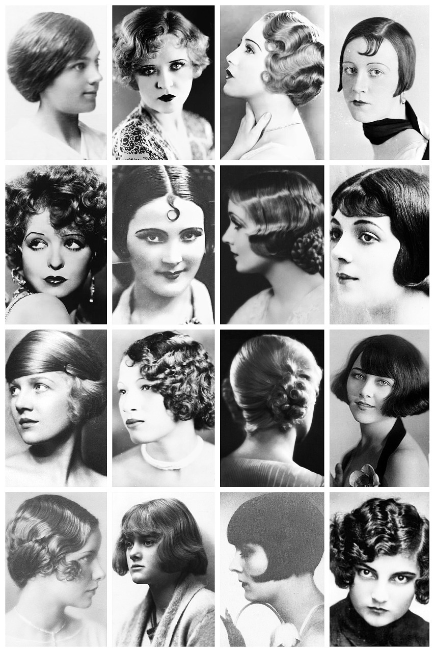 From the Bob To Finger Waves, Vintage Photographs Depict ...
