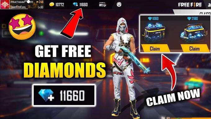 Free Fire में Free Diamond कैसे लें - Fire Free Diamond Trick