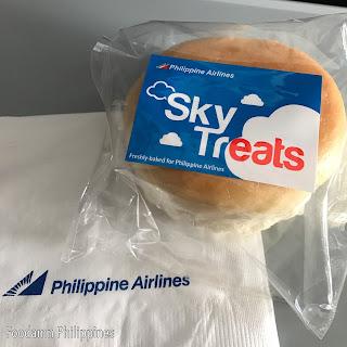 chicken asado bun from Philippine Air Lines (PAL