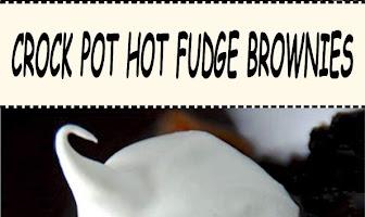 CROCK POT HOT FUDGE BROWNIES