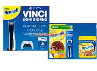Con Nesquik vinci ogni giorno Playstation 5 Console con Store Card ( 146 premi del valore di 599 euro)