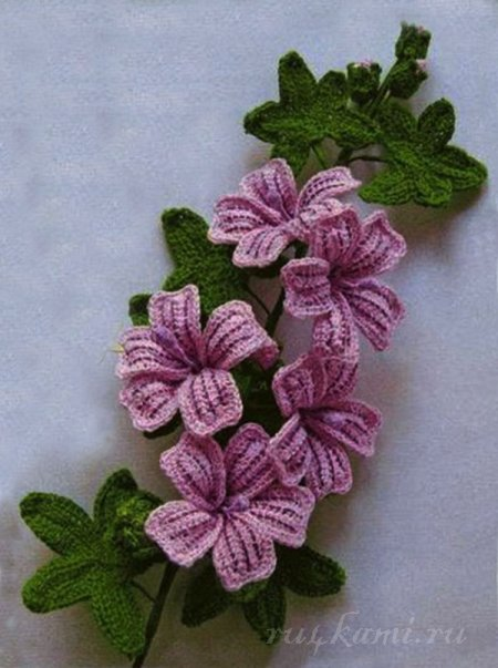 Ergahandmade Crochet Flower Diagrams