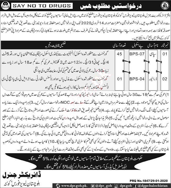 Levies Police Force Jobs 2020 Wireless Operators, Siphai, and other 358 Plus Post