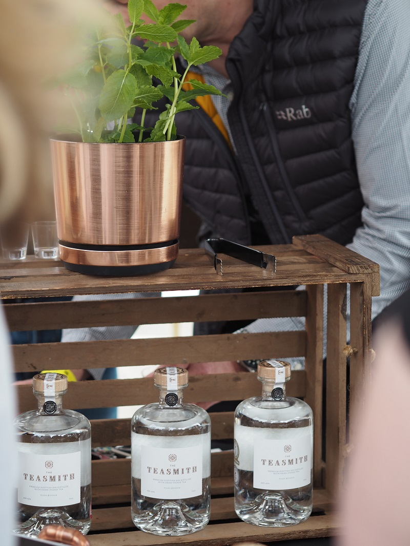 The Teasmith gin stall at TOG2019