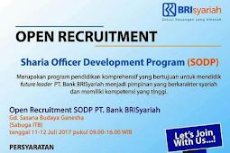 Lowongan Kerja Bank BRI Syariah Juli 2017