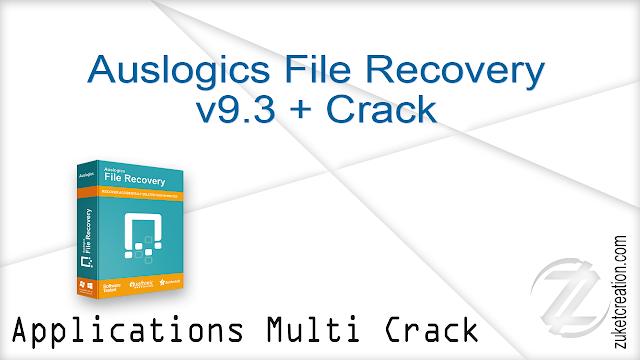 Auslogics File Recovery v9.3 + Crack