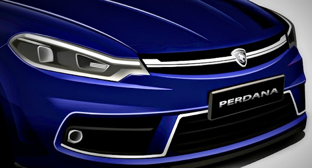Model Baru Proton Perdana 2016