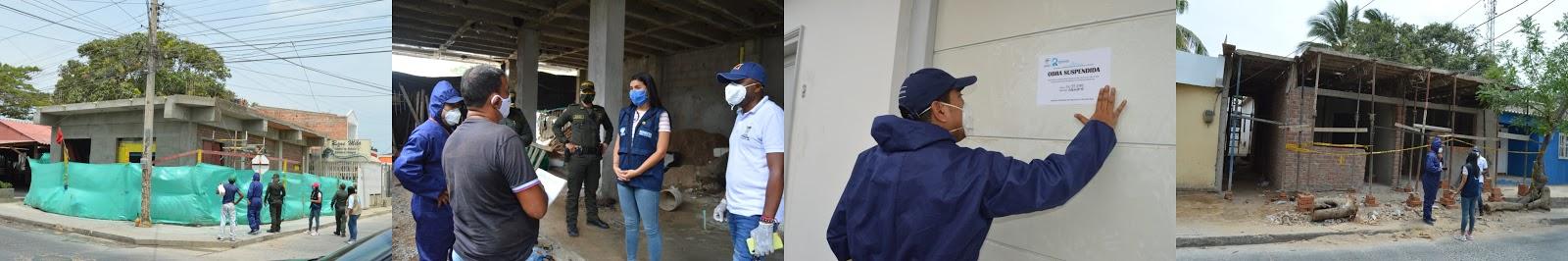 Alcaldía de Riohacha supervisa requisitos en apertura de obras de construcción