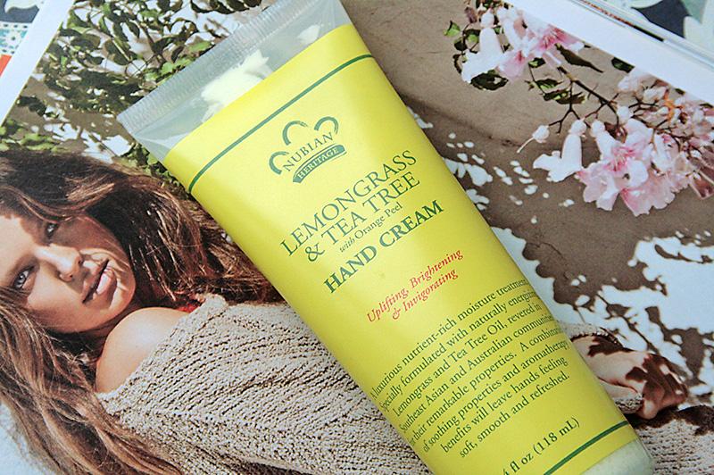 Крем для рук Nubian Heritage Lemongrass Tea Tree Hand Cream. Этот и другие отзывы iherb в блоге itdalee.ru