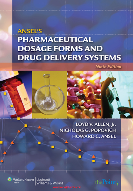 Ansels Pharmaceutical Dosage Forms And Drug Delivery System Nineth Edition pdf free download