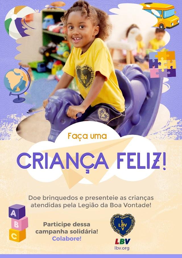 LBV prepara homenagem para crianças atendidas na instituição.