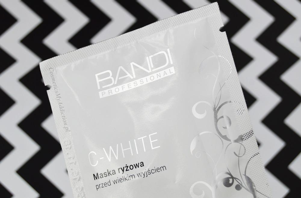 Bandi - C-White - Maska ryżowa przed wielkim wyjściem