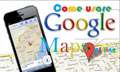 Come usare offline Google Maps come navigatore