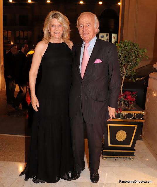 Eva Thesleff y Santiago Soldati el Alvear Palace Hotel
