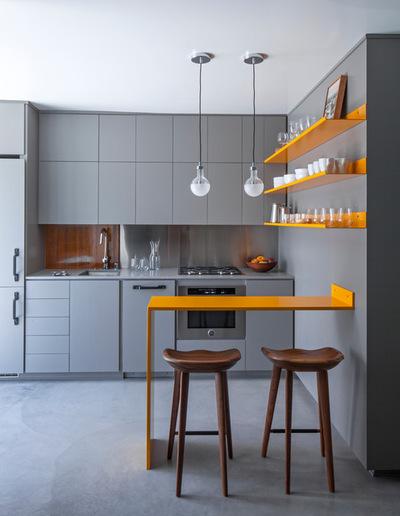 дизайн современной маленькой кухни
