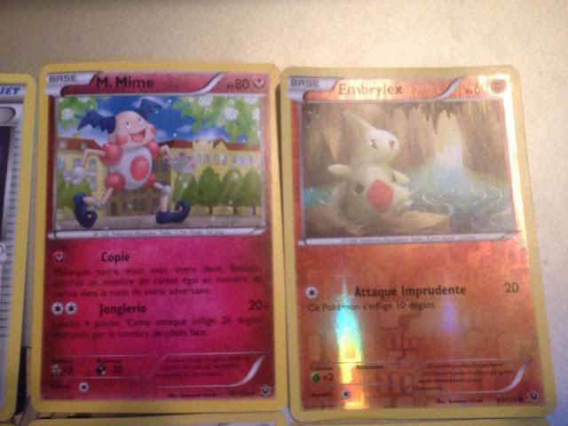 M. mime rare, embrylex holographique rivers, pokemon, cartes à collectionner, cartes à jouer, pokemon XY 10, Impact des destins, cartes rares