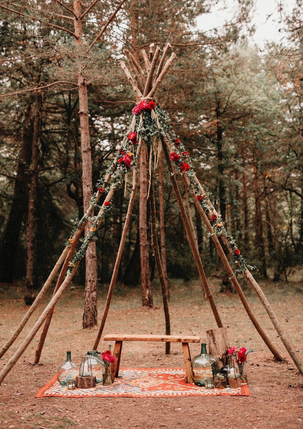 La magia de celebrar en el bosque_32