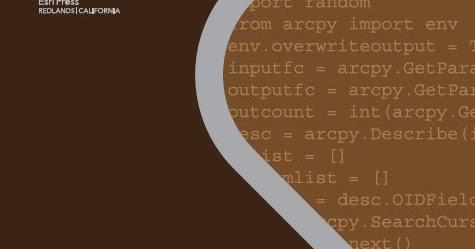 Python scripting for ArcGIS pdf - Monde GEOspatial