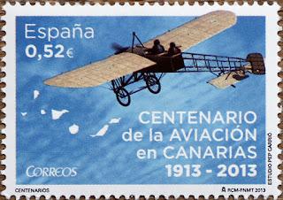 CENTENARIO DE LA AVIACIÓN EN CANARIAS 1913 - 2013