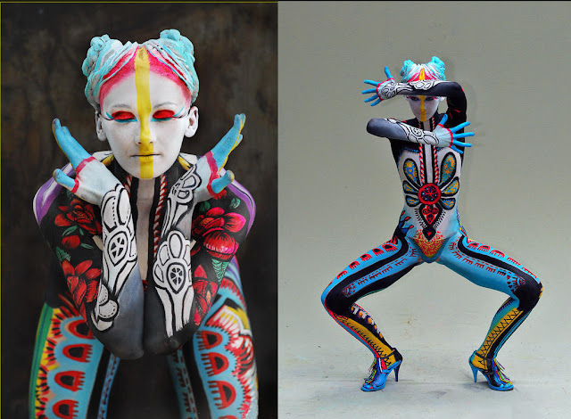 Chapter 50 The Art Of Body Painting History Of Graphic Design