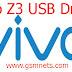 Vivo Z3 USB Driver Download
