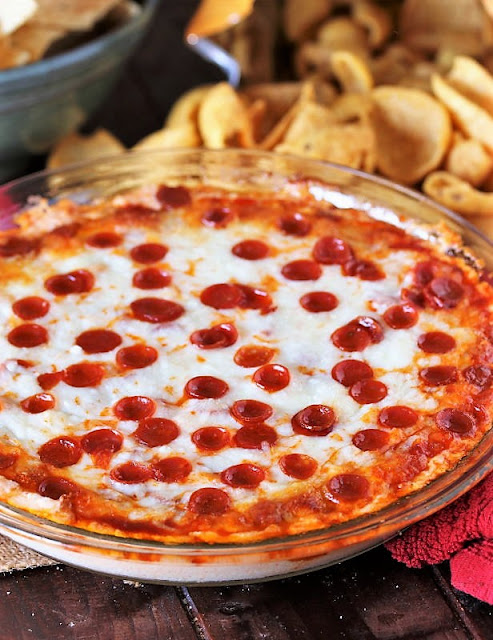 Baked Pizza Dip Image