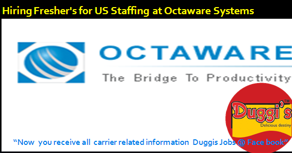 Duggis Jobs Octa Ware Systems Hiring Freshers For Us
