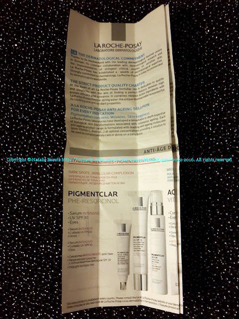 PIGMENTCLAR EVEN SKIN TONE DAILY MOISTURIZER, UV SPF 30 -  LA ROCHE-POSAY REVIEW AND PHOTOS NATALIE BEAUTE