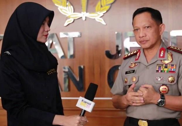 Kapolri diwawancarai