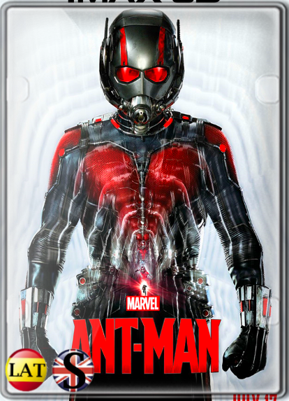 Ant-Man el Hombre Hormiga (2015) FULL HD 1080P LATINO/INGLES